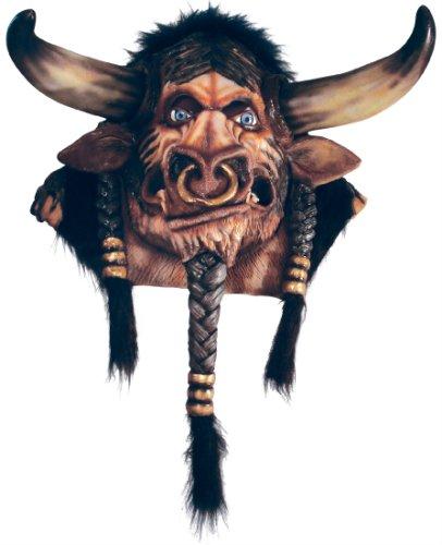 World of Warcraft Tauren Overhead Latex Mask (Orc Latex Mask)