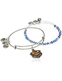 Alex and Ani Womens Harry Potter Ravenclaw Motto Set of 2 Two-Tone