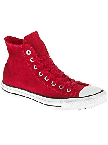 140017C Converse Chucks COMO HI Temporada Sue Suede Red Chili Rojo