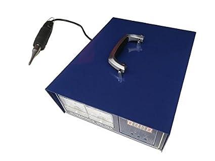 Handheld ultrasónico máquina de soldadura de plástico portátil ultrasónico Spot soldador 500 W PE Material 220V