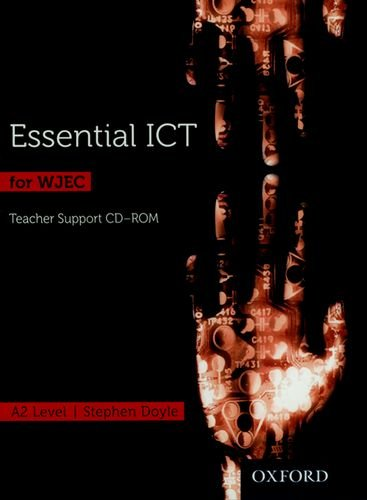 Download Essential ICT for A Level: A2 Teacher's Support CD-ROM for WJEC ebook