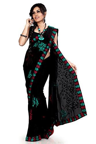 Designer Chiffon Sarees - 1
