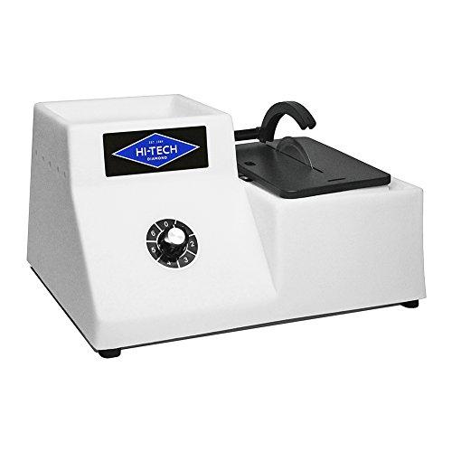 Hi-Tech Diamond 4'' Lapidary Trim Saw | Cutting Sawing Trimming Machine | Includes 4'' Diamond Saw Blade by Hi-Tech Diamond