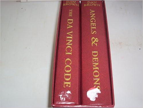 Da Vinci Code Angels And Demons Boxed Set Dan Brown Amazon Books