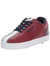 Heelys Boys' Alley Tennis Shoe, red/Navy/White