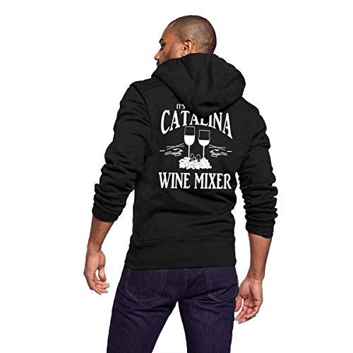 Sportswear Full Zip Up Club Fleece Hoodie Midweight Zip Front Hooded Sweatshirt Jacket for Men and Women - Catalina Wine Mixer -