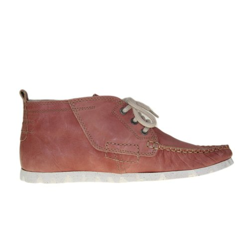 YELLOW CAB Chausseures Femmes - Moccassin TUBE W - brick - Y 25085
