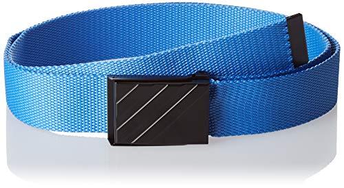 (adidas Golf Webbing Belt, Real Blue, One Size)