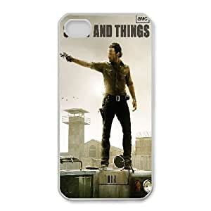 iphone4 4s Case (TPU),iphone4 4s Cell phone case White for The Walking Dead - KKHG5350057
