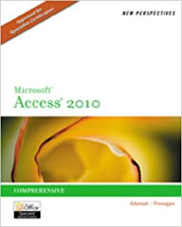 Video Companion DVD for Adamski/Finnegan's New Perspectives on Microsoft Access 2010, Comprehensive