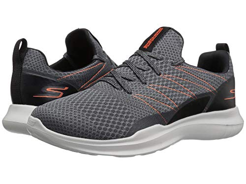[SKECHERS(スケッチャーズ)] メンズスニーカー?ランニングシューズ?靴 Go Run Mojo 54845 Charcoal/Orange 10 (28cm) D - Medium