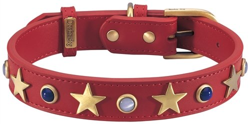 Dosha Dog CAD-01 S American Dog Collar, Small
