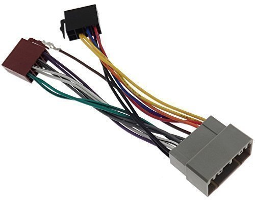 Chrysler 2 Radio Adapter Jeep Radio Adaptor Cable ISO Wiring Harness connector cable: Amazon.co.uk: Electronics