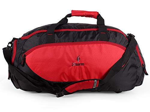 Istorm Delta Duffel Travel Bag  Red   Black