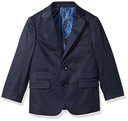 - Isaac Mizrahi Boys' Little Classic Cotton Blazer, Navy, 7