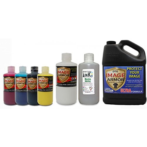 Image Armor E-Series DTG Ink Medium Change-over Kit by Garment Printer Ink
