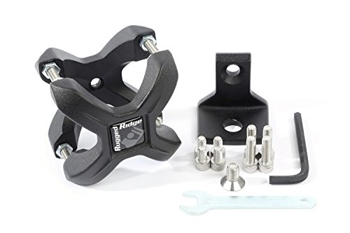 Rugged Ridge 11031.21 Textured Black X-Clamp for 1.25-2