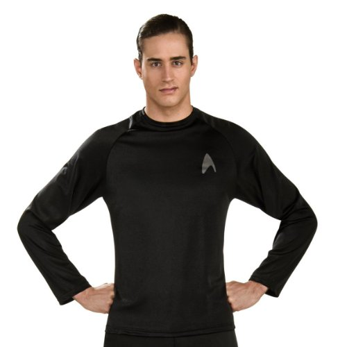 Best Tv Themed Costumes (Rubie's Costume S.Trek Off Duty Uniform Costume, Large, Large)