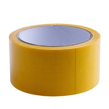 Cinta Adhesiva Impermeable 10 m x 50 mm Rojo, Negro, Azul, marr/ón, Verde, Gris, Blanco y Amarillo 8 Colores Fewxdsad