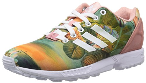 Zx Rose Baskets Flux Femme Basses Adidas ORdwXO