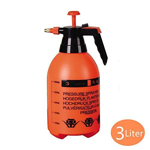 Sheffla Multi-Purpose 3-Liter Hand Pump Sprayer Gardening tool Water Mister Spray Bottle by Sheffla