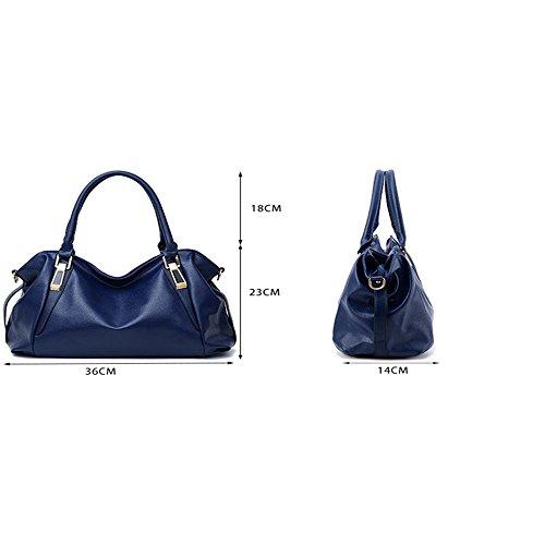 décontractée mode à sacs souple black bandoulière nouvelles main Messenger bag Sac sac à dames d'âge 2018 DIUDIU moyen F7PwRqW