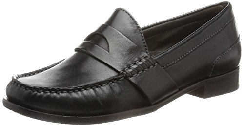 cole haan womens black loafer - 6
