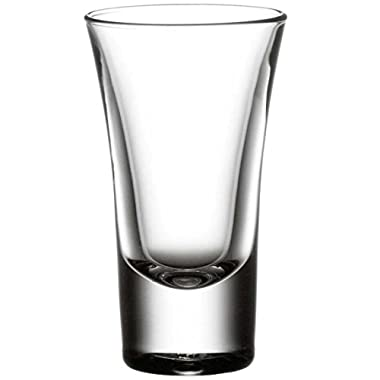 Bormioli Rocco Dublino Collection 2-Ounce Shot Glasses, Set of 6