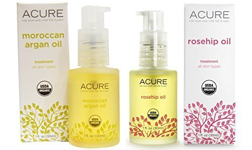 Acure Organics Certified Organic Rosehip Oil and Argan Oil B