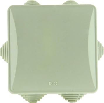 Voltman DIO013014 Bo/îte ronde /étanche Diam/ètre 65 mm Hauteur 35 mm IP44