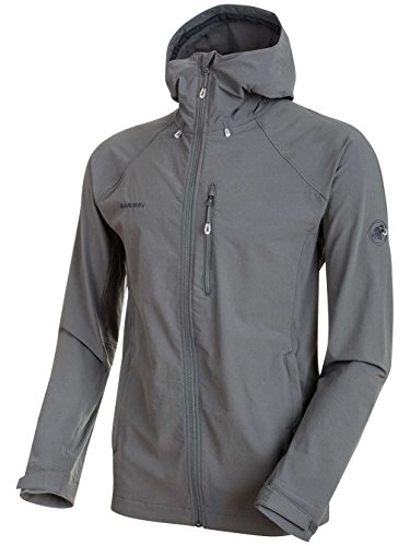 Mammut Runbold Trail SO Hooded Jacket titanium M from Mammut