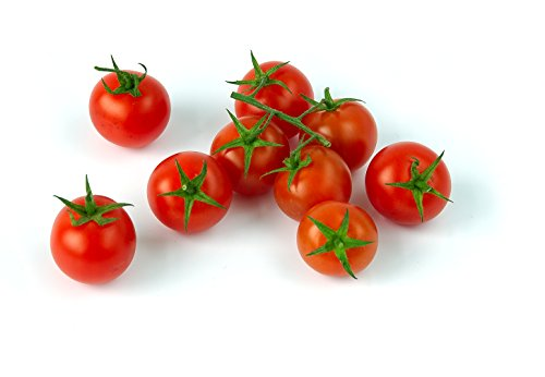 Large Red Cherry Tomato Seeds, 500+ Premium Organic Heirloom Seeds, Fantastic Addition of Flavor to Your Home Garden!, (Islas Garden Seeds), 90% Germination Rates, Non GMO Organic, Highest Quality