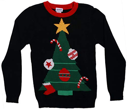 Blueberi Boulevard Girls Ugly Christmas Sweater - Sweaters for Girl AMB25031-6-6X -