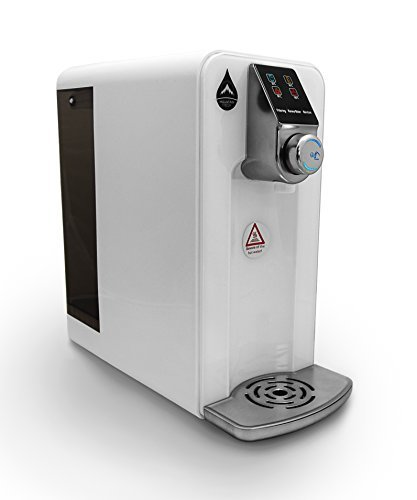 Agua Caliente Émbolo (Agua Caliente dispensador de agua agua caliente eléctrica hacer Automat Mountain Fresh RO sistema de filtro de agua con tanque de 5 l: ...