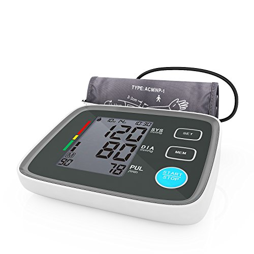 AlphaMed Upper Arm Blood Pressure Monitor with ...
