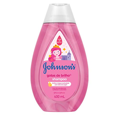 Shampoo Gotas Brilho Johnsons Baby