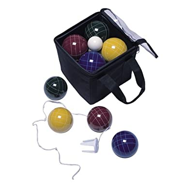 Park & Sun 109mm Bocce Ball Pro Set with Carry Bag