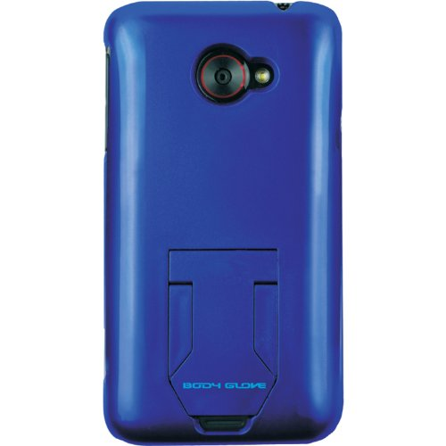 Body Glove Horizontal Case - Body Glove 9277801 Kickback Vibe Case for HTC Evo 4G Lte - 1 Pack -Retail Packaging - Blue