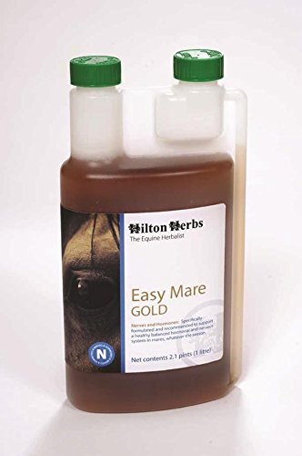 HILTON HERBS 039033 Easy Mare Gold Herbal Supplement For Horses, 2.1 pint by Hilton Herbs by Prime Pet Deals - Code 1