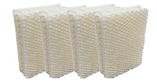 Ximoon 4-Pack Humidifier Wick Filters Replacement Compatible with Emerson HDC12 Sears Kenmore 14911 32-14911 ES12 Humidifier Filters