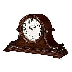 Bulova B1514 Asheville Mantel Clock, Brown Cherry