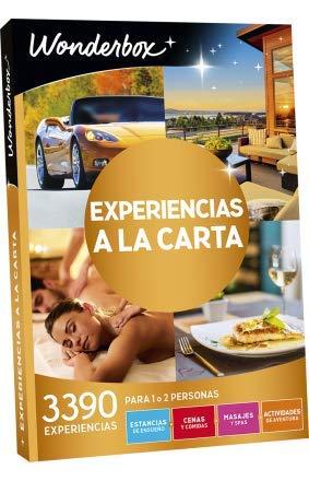 WONDERBOX Caja Regalo -EXPERIENCIAS A LA Carta- 3.390 experiencias para Dos Personas