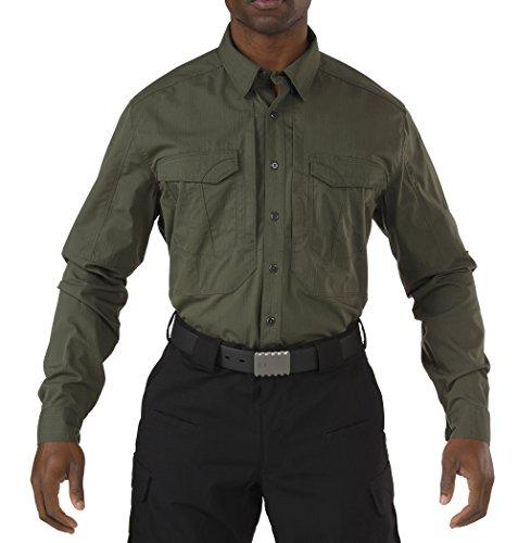 (5.11 Men's Stryke Long Sleeve EDC Shirt, TDU Green, X-Large)