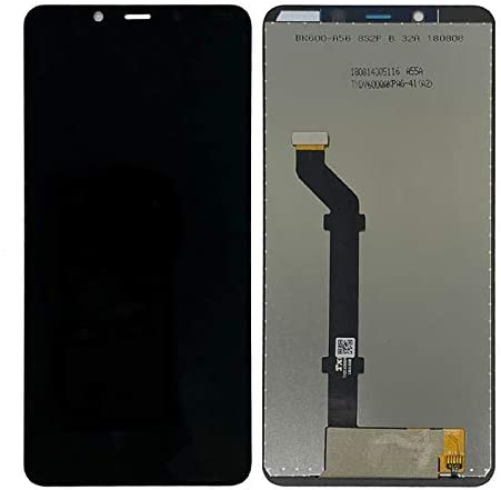 MAYOFO Good Quality.LCD Screen and Digitizer Full Assembly for Nokia 3.1 Plus Color : Black Black