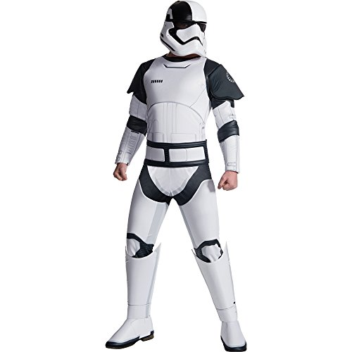 (Rubie's Star Wars Episode VIII: The Last Jedi Uni-Sex Deluxe Executioner Trooper Costume  White/Black  X-Large)