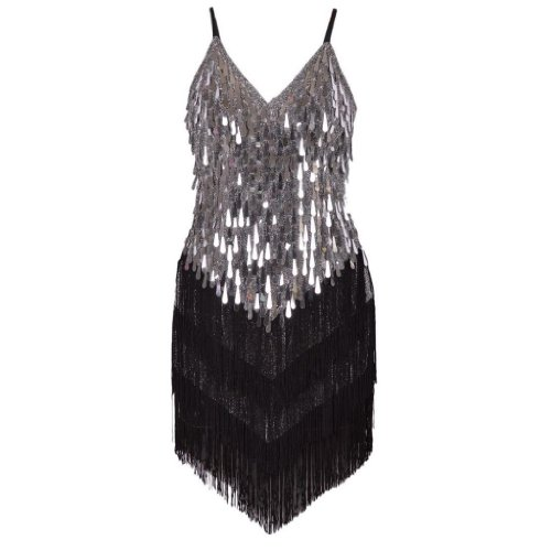 Eyekepper Wonen's Gowns Rhythm Ballroom Salsa Samba Rumba Tango Latin Dance Dress