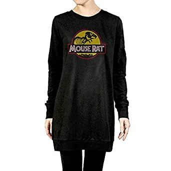 DE4K Rat Skull Fashion Pullover Hoodie Sweater Long Sleeve For Women