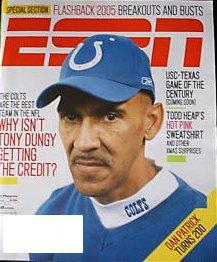 ESPN Magazine - Tony Dungy January 2006