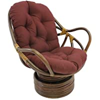 International Caravan 3310-TW-BG-IC Furniture Piece Swivel Rocker with Twill Cushion