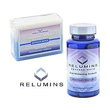 Relumins Intensive Repair Whitening Soap + Relumins Oral Whitening Formula Pills